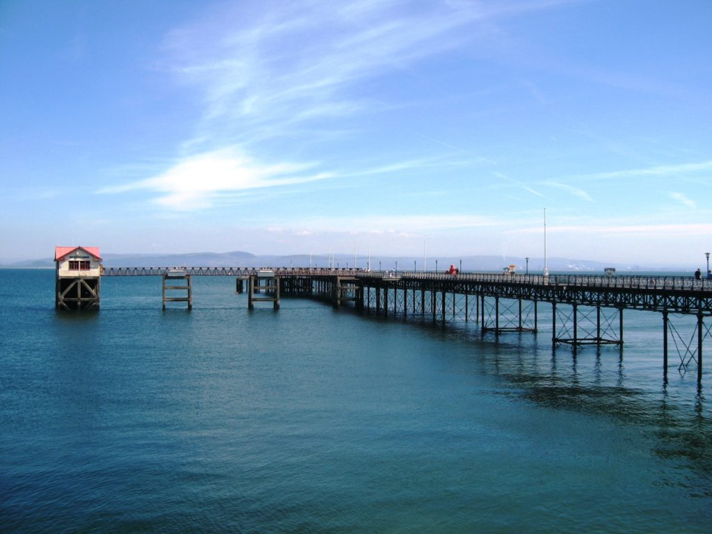 The Pier is 835ft long